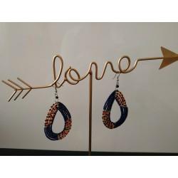 Boucles d'oreilles Masai