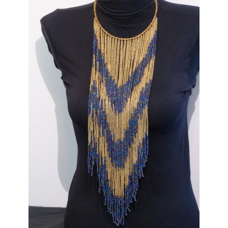 taille 40 420b6 1344b Collier africain, collier Massai Kenya, ethnique, cadeau pour elle